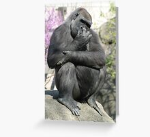 Bad Manners Greeting Card