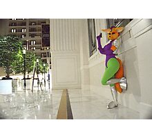 Fara Phoenix:Last resort stance Photographic Print