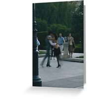 The Moves of Madrid Greeting Card
