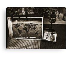 Planeta Tierra Canvas Print