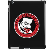 Pittsburgh, PA (White Background) iPad Case/Skin