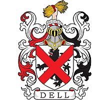Dell Coat of Arms Coat of Arms Photographic Print