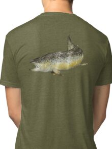 Brown Trout Tri-blend T-Shirt