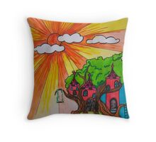 Sunshiny Day Throw Pillow