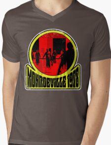 Monroeville, 1978 (White Background) Mens V-Neck T-Shirt