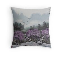 Spring Hill Throw Pillow