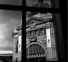Flinders st. Station by victor