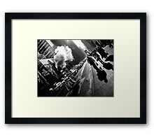 5th Ave. Framed Print