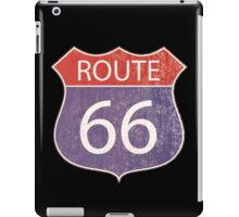 Route 66 Road Sign iPad Case/Skin