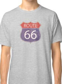 Route 66 Road Sign Classic T-Shirt