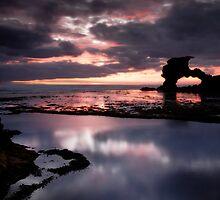 Pink Nepean Eve by Robert Mullner