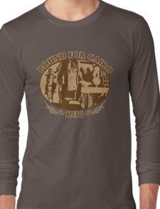 Bound For Cairo, 1936 Long Sleeve T-Shirt