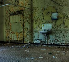 Peeling Walls by Richard Shepherd