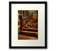 Please use other stairs Framed Print