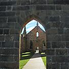 Inside Looking Out - Port Arthur Historic Site, Tasmania Australia by Philip Johnson