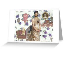 Pretty Purple Flowers Greeting Card