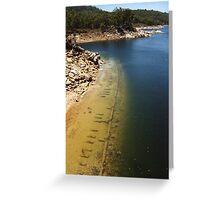 Mundaring Weir  Greeting Card