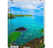 Rai Ki Wai - View of the sea iPad Case/Skin