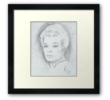 older woman Framed Print