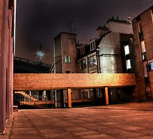 Newcastle backstreet by Richard Shepherd