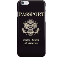 US Passport iPhone Case/Skin