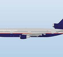Wings In Uniform - DC-10 - United Airlines - 90's by nADerL