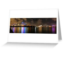 Sydney Summer Reflections Greeting Card