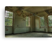 Ward with no beds Canvas Print