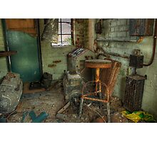 Projection Booth Photographic Print