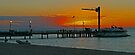 Sunset on Tangalooma, Queensland, Australia (Panorama) by Margaret  Hyde