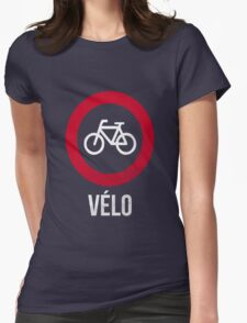 VÉLO III Womens Fitted T-Shirt