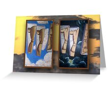 Men-R-Manequins (series) Greeting Card