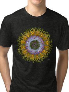 Cozmic Eyeball Mandala Tri-blend T-Shirt