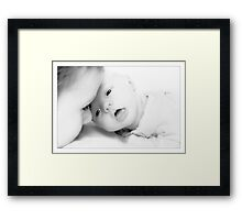 Hello big brother... Framed Print