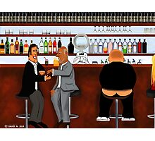 Corky the Bartender Photographic Print