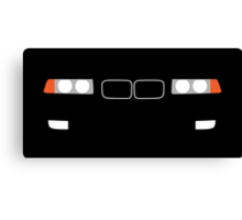 1991-1999 BMW 3 Series (E36) Kidney grill and headlights Canvas Print