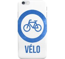 VÉLO II iPhone Case/Skin