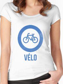 VÉLO II Women's Fitted Scoop T-Shirt