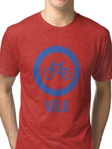 VÉLO II Tri-blend T-Shirt