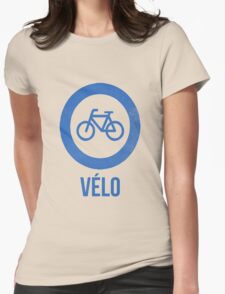 VÉLO II Womens Fitted T-Shirt