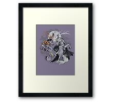 potter with unicorns  Framed Print