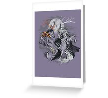 potter with unicorns  Greeting Card