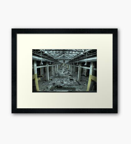 Mauled Mall Framed Print