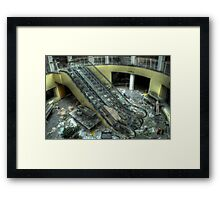 Escalating decay Framed Print