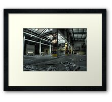 Pillars and portraits Framed Print