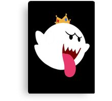 King Boo! Simplistic Design Canvas Print