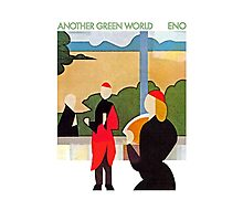 Brian Eno - Another Green World Photographic Print