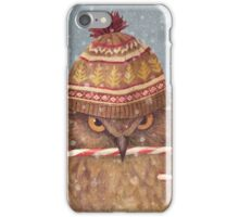 Christmas Owl  iPhone Case/Skin