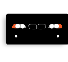 1999-2006 BMW 3 Series (E46) Kidney grill and headlights Canvas Print