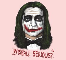 Wiseau SERIOUS?? The Room's Tommy Wiseau meets the Joker! Kids Clothes